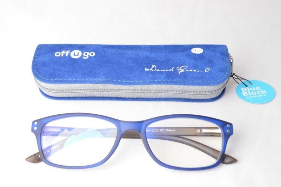 BLUE BLOCK off u go reader 12 Large Size(rounded)