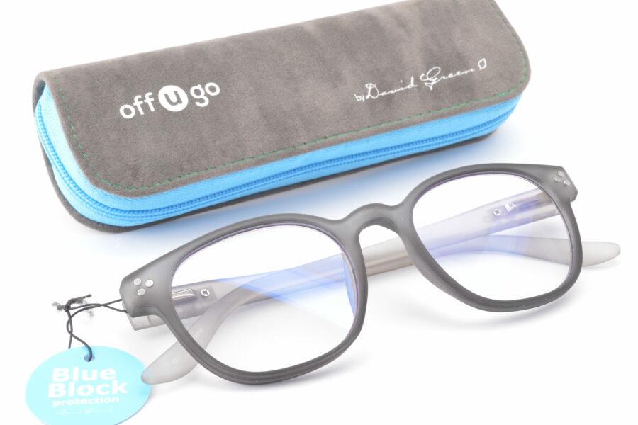 offugo CHRISTIE Blue Block roundish style 49-20-145